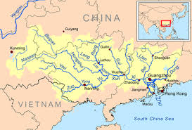 rivers in china map list of rivers of china
