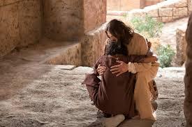 Blind Man At Bethsaida Jesus Heals A Man Born Blind