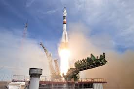 soyuz ms 04 sends two man crew on fast track to iss spaceflight
