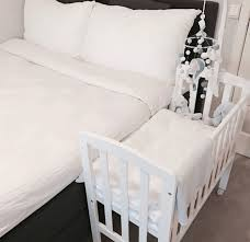 Side Crib For Bed Bed Side Crib White Bed