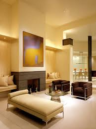 living room simple and modern colours plus brown wall royal nuance