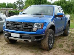 ford raptor lifted file ford f 150 raptor svt blue front jpg wikimedia commons