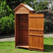 new wooden garden shed apex sheds tool storage cabinet unit