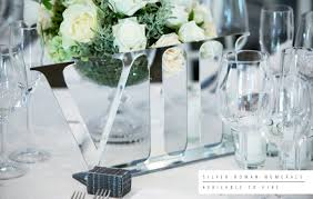 silver wedding table numbers wedding invitations wedding stationery south africa secret