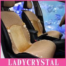 housse de siege auto personnalisé ladycrystal personnalisé mignon voiture style chaud doux housses de