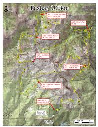 Skyline Drive Map Tushars U2014 The Grand Circle Trail Series