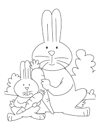rabbits coloring pages 53 best coloring pages 42 mouse rabbit etc images on pinterest