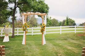 wedding arches houston rustic altar arch arrangements barn colorado country outdoor
