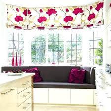 kitchen window dressing ideas bay window decorating ideas pictures appealing kitchen best bay