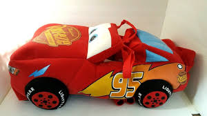 Lightning Mcqueen Halloween Costume Disney Store Cars Lightning Mcqueen Plush 3d Halloween Costume