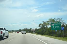 florida aaroads interstate 75 south lee county