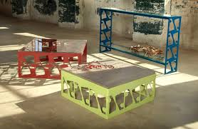 design house furniture galleries metal furniture design of scrap collection by bevara design house