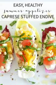 Cottage Cheese Recipes Healthy by Caprese Stuffed Endive Recipe The Chronicles Of Home
