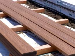composite boards chosen for boardwalk surface and the reasons are