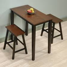 Rectangle Kitchen Table With Bench Kitchen Perfect For Kitchen And Small Area With 3 Piece Dinette