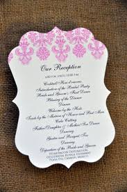 best wedding programs the best sle wedding programs c bertha fashion
