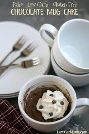 paleo gluten free chocolate mug cake recipe low carb yum