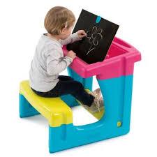 bureau enfant smoby smoby bureau petit ecolier tableau et pupitre fnac