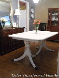 Chalk Paint Table And Chairs Instant Family Heirloom Color Transformed Family
