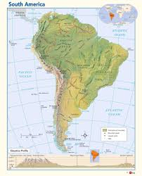 Blank South American Map by Latin And South America Map Roundtripticket Me