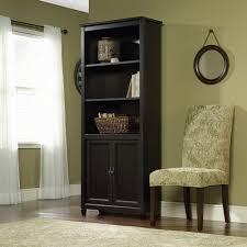 Sauder Bookcase 5 Shelf by Bookshelves With Doors Walmart Black Bookcase Asca07bl Hacks