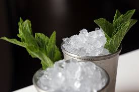 mint julep cocktail authentic southern mint julep recipe popsugar food