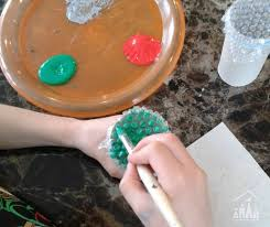 10 diy christmas cards for kids crafty kids at home