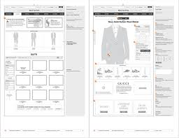 10 fresh beautiful examples of website wireframes mockup builder
