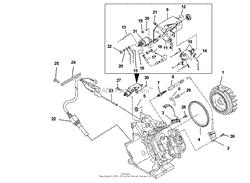 Ignition Part 2 Homelite Lrx5600 Generator Ut 03822 Parts Diagram For Ignition