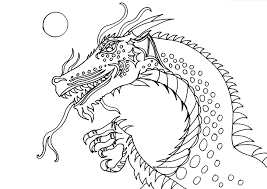 printable 21 dragon head coloring pages 4230 free coloring pages