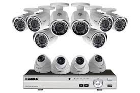 16 channel 1080p hd security camera system with 12 1080p metal