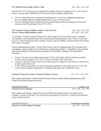 Sap Crm Resume Samples by Sap Order Management Resume Virtren Com