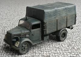 opel blitz the great canadian model builders web page opel blitz