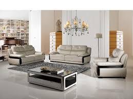 Light Gray Leather Sofa American Eagle Ek B115 Lg Modern 3pcs Light Gray Leather Sofa Set