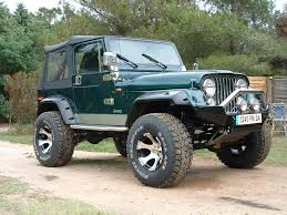 lifted jeep green jeep cj7 lifted green image 48