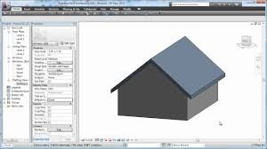 Hip Roof Design Software by Revit 2011 Roof Basics 01 Gable Cadclip Youtube