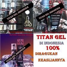 ciri titan gel asli dan palsu diindonesia klg herbal
