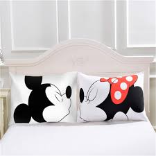 mr and mrs pillows cilected mr mrs pillowcases home textile 2pcs white pillow