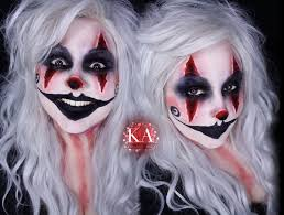 Halloween Makeup Clown Faces by Creepy Clown Halloween Makeup W Tutorial By Katiealves On Deviantart