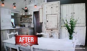 How To Renew Old Kitchen Cabinets Christmas Cabin Kitchen After Hooked On Houses