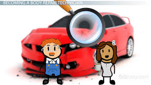 how to become a body repair technician career guide