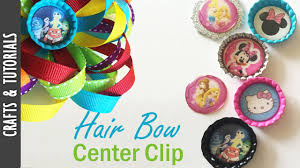 hair bow center hair bow center clip tutorial the290ss