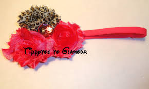 how to make baby flower headbands how to make a shabby chic flower headband