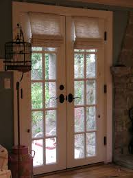 french door with curtain french door design home decor
