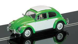 volkswagen beetle green scalextric sand u0026 surf vw beetle and vw camper van limited edition
