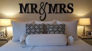 Wedding Wall Decor Mr U0026 Mrs Large Painted Wood Letters New Color Choices Wedding Wall