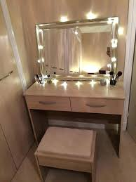light up vanity table makeup bedroom bedroom mirror with lights dressing table light up