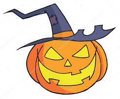cute jack o lantern clipart cartoon halloween pumpkin u2014 stock photo hittoon 4724695