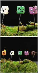 cute halloween marsh monsters desserts pinterest monsters