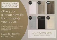 made to measure replacement kitchen cabinet doors and drawers from